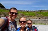 Selfie at the Pompeii Amphitheatre