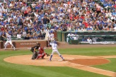 Cubs game at Wrigley Field